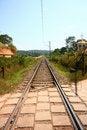 Free Empty Railway Tracks Through Scenic India Stock Photos - 22571743