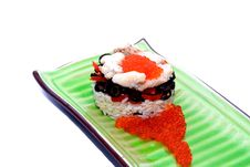 Fashion Seafood Royalty Free Stock Image
