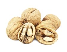 Free Walnuts Royalty Free Stock Photo - 22570225