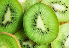 Free Kiwi Slices Stock Photography - 22570272