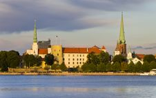 Free View On The Old City Of Riga, Europe Royalty Free Stock Photos - 22570308
