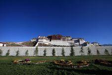Free Potala Palace Royalty Free Stock Photography - 22570477