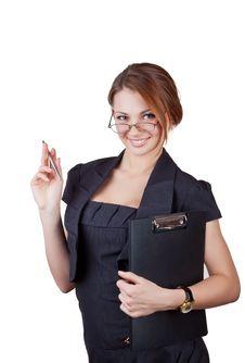 Free Beautiful Business Woman Stock Photo - 22571410