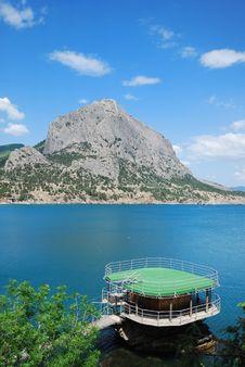 Free Mountain Sokol On The Crimean Coast. Stock Photo - 22573190