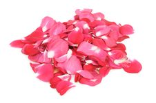 Free Pile Of Red Rose Petals Stock Photo - 22576970