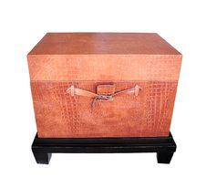 Free Leather Chest Royalty Free Stock Image - 22578116