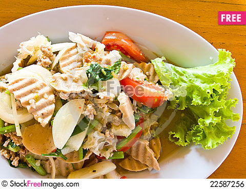 Free Thai Cuisine Yummy Royalty Free Stock Image - 22587256