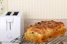 Free Baked Raisin Bread Royalty Free Stock Photos - 22580448