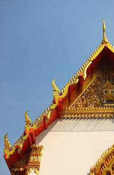 Free Unique Rooftop Of Wat Pho Stock Photo - 22580990