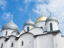 Free Saint Sophia Cathedral  Of Great Novgorod Russia Royalty Free Stock Photography - 22583337