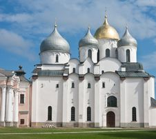 Free Saint Sophia Cathedral  Of Great Novgorod Russia Stock Photos - 22583363