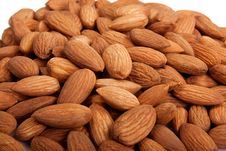Free Almonds Royalty Free Stock Photo - 22583515