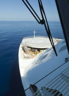 Free Cruise Ship Bridge View Royalty Free Stock Image - 22586076