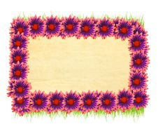 Free Flower Frame Royalty Free Stock Photos - 22586338