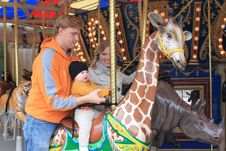 Free Fun On The Carousel Stock Photography - 22588232