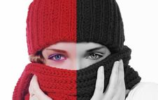 Free Girl With Hat Royalty Free Stock Photo - 22588765