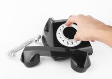 Free Black Old Phone Stock Photography - 22589452