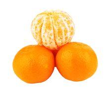 Free Mandarins Royalty Free Stock Photography - 22589517