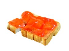 Free Toast And Jam Royalty Free Stock Images - 22589759