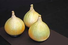 Large Onions. Royalty Free Stock Images