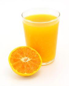Free Tangerine And Juice Stock Photo - 22591710