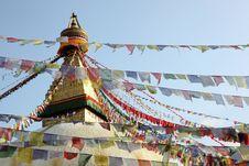 Free Eyes Of Buddha Royalty Free Stock Images - 22592179