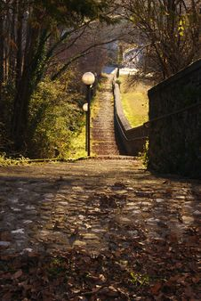 Free Winter Stairs Stock Photo - 22593430