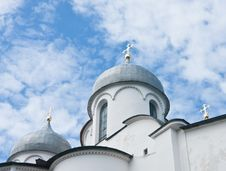 Free Saint Sophia Cathedral  Of Great Novgorod Russia Stock Photos - 22594063
