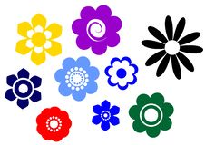 Free Bloom Icons Stock Images - 22594404