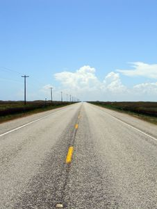 Free Straight Road Stock Photography - 2260552