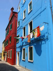 Free Coloured House Stock Images - 2261414