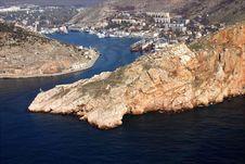 Free City On Coast Of A Bay Royalty Free Stock Photos - 2261688