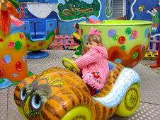 Free Girl Having Joy Ride Royalty Free Stock Photo - 2262075