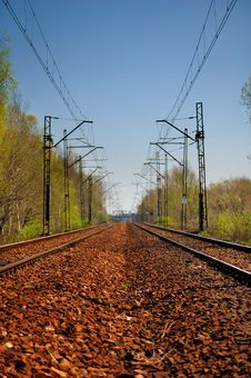 Free Endless Railway Stock Images - 2263824