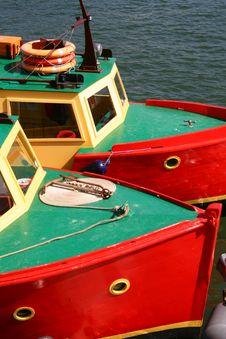 Free Twin Boats Royalty Free Stock Photo - 2263985
