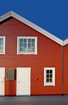 Free Typical Houses In Norway Stock Photo - 2264300