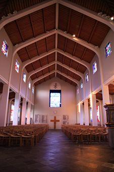 Inside Skalholt Church Stock Photo