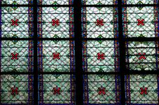 Medieval Stained Glass Window Royalty Free Stock Image