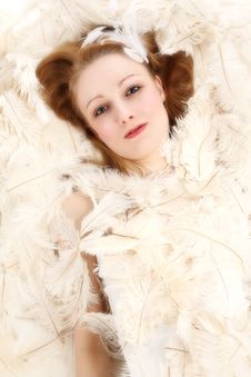 Free Angel Cover In Feathers Stock Photos - 2264803