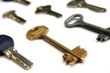 Free Keys Stock Photography - 2264872