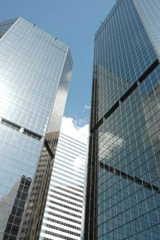 Free Skyscrapers Against The Sky Stock Images - 2267194