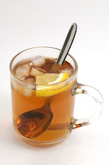 Free Cup Of Tea With Ice Stock Images - 2268004