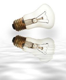 Free Old Light Bulb Royalty Free Stock Photos - 2268468