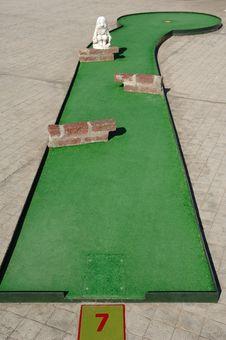 Free Mini Golf Stock Photo - 2268600