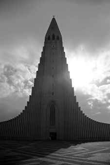 Free Hallgrimskirkja Church Royalty Free Stock Photos - 2268628
