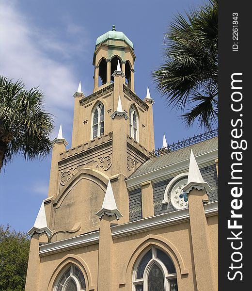 Synagogue & Palms