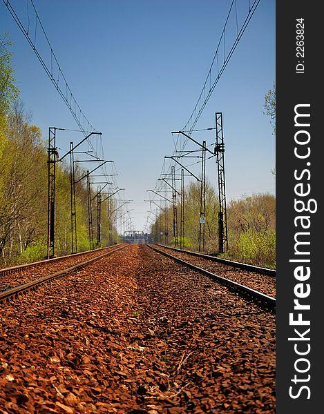 Endless railway