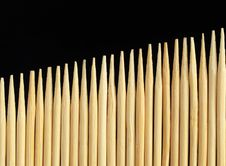 Free Toothpicks Royalty Free Stock Photography - 22602627
