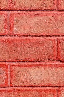 Free Red Brick Wall Royalty Free Stock Photos - 22603228