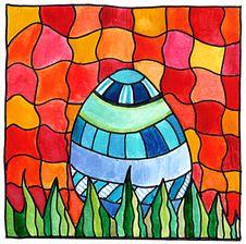 Free Easter Egg Mosaic Stock Image - 22604851